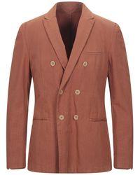Dondup Suit Jacket - Brown