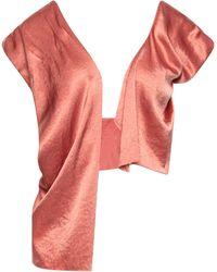 Nanushka Shrug - Pink