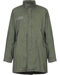 R13 Overcoat - Green