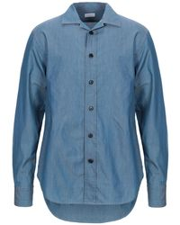 Harris Wharf London Chemise en jean - Bleu