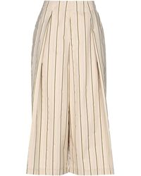 Pinko 3/4-length Trousers - Natural