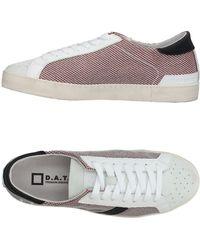 Date Low Sneakers & Tennisschuhe - Weiß