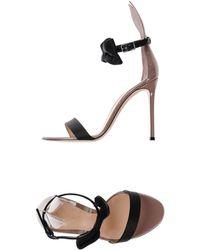 Gianvito Rossi - Sandals - Lyst