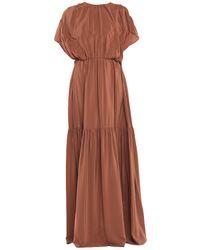 Rochas Robe longue - Marron