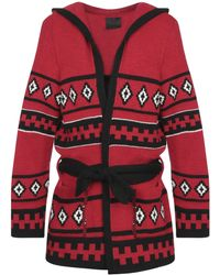 Relive Cardigan - Rosso