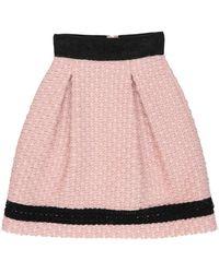 Maria Grazia Severi Knee Length Skirt - Pink