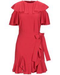Goen.J Short Dress - Red