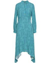 Closet Midi Dress - Blue