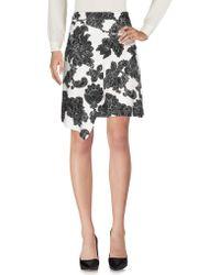Tanya Taylor Knee Length Skirt - Black