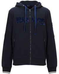 Blauer Sweatshirt - Blue
