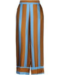 Manila Grace Casual Trouser - Blue