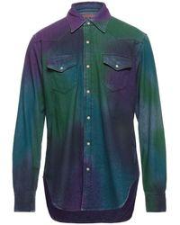 Acne Studios Camicia jeans - Verde