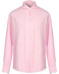 Drumohr Camisa - Rosa
