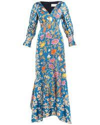 Peter Pilotto Long Dress - Blue