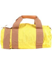 Maison Margiela Travel Duffel Bags - Yellow