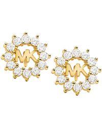 Michael Kors Earring Mkc1254an710 Gold - Metallic