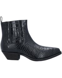 Jucca Ankle Boots - Black