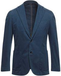 Lubiam Suit Jacket - Blue