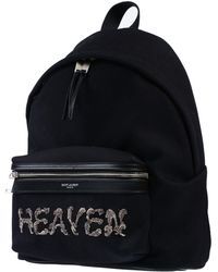 Saint Laurent City Mini Backpack - Black