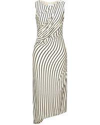 Bolongaro Trevor Midi-Kleid - Weiß
