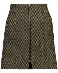 SUNO Mini Skirt - Metallic