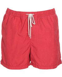SELECTED Swim Trunks - Red