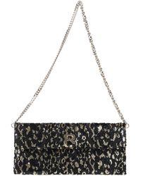 Rochas Shoulder Bag - Black