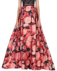 Carolina Herrera Long Skirt - Red