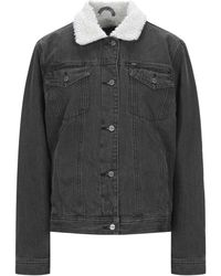 Obey Denim Outerwear - Black