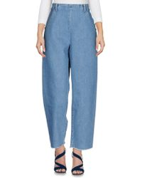 Vanessa Seward Denim Pants - Blue