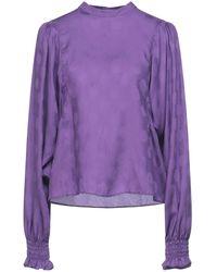 Le Sarte Pettegole Blouse - Purple