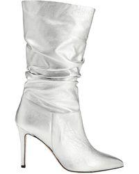8 by YOOX Knee Boots - Metallic