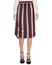 Scotch & Soda - Knee Length Skirts - Lyst