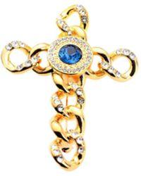 Versace Broche - Bleu