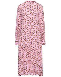 Numph Midi Dress - Pink