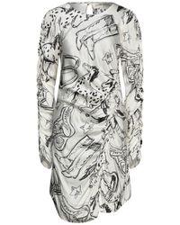 Shirtaporter Vestito corto - Bianco