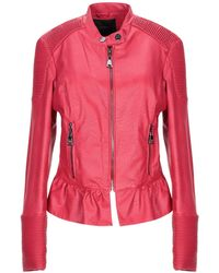 MY TWIN Twinset Jacket - Red