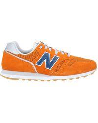 New Balance Low-tops & Trainers - Orange
