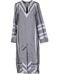 Cecilie Copenhagen - 3/4 Length Dresses - Lyst