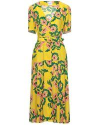 Hayley Menzies Midi Dress - Yellow