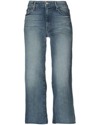 Mother - Denim Trousers - Lyst