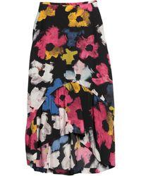 Colville Midi Skirt - Black