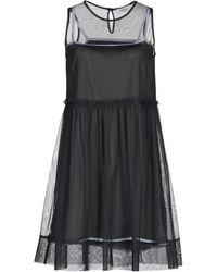 Alpha Studio Short Dress - Grey