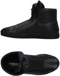 Versace High Sneakers & Tennisschuhe - Schwarz