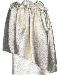 Stella McCartney Mini Skirt - Metallic