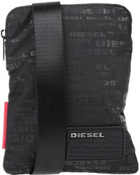 DIESEL Cross-body Bag - Black