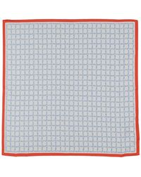Tory Burch Square Scarf - White
