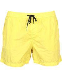 Dondup Swimming Trunks - Yellow