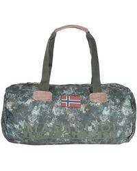 Napapijri Duffel Bags - Green