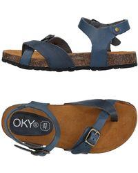OKY - Toe Strap Sandal - Lyst